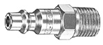 Air System Connector Ms Series 1/4 Male Npt