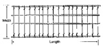 "Truck Seat Spring 52"" Length 16-3/4 Width"