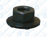 M6-1.0 Free Sping Wshr Nut 16mm O.D. 10mm Hex