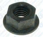 Hex Flange Nut M8-1.25 17mm O.D. 13mm Hex