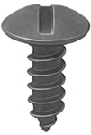 Slot Truss Head License Plate Screw #14 X 3/4