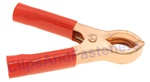 50 Amp Test Clips Red Insulation