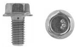 Jis Hex Flange Bolt M8-1.25 X 16mm Zinc