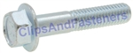 Jis Hex Flange Bolt M8-1.25 X 40mm Zinc