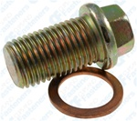 Oil Drain Plug W/Gasket M14-1.5 Thread Zinc
