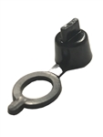 Grease Fitting Cap Black Polyethylene