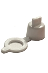 Grease Fitting Cap White Polyethylene
