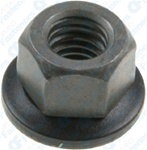 M6-1.0 Free Spinning Washer Nut 14mm O.D.