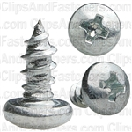 Phillips Pan Head Tap Screw 8 X 3/8 Zinc Ab