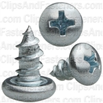 Phillips Pan Head Tap Screw 10 X 3/8 Zinc Ab