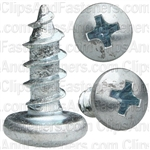 Phillips Pan Head Tap Screw #10 X 1/2 Zinc