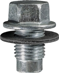 Oil Drain Plug With Gasket - 12mm-1.25 Thread