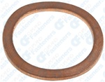Copper Oil Drain Plug Gasket 20mm I.D.