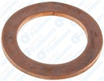 Copper Oil Drain Plug Gasket 18mm I.D.