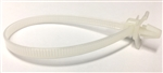 Natural Nylon Push Mount Cable Tie 200mm Length