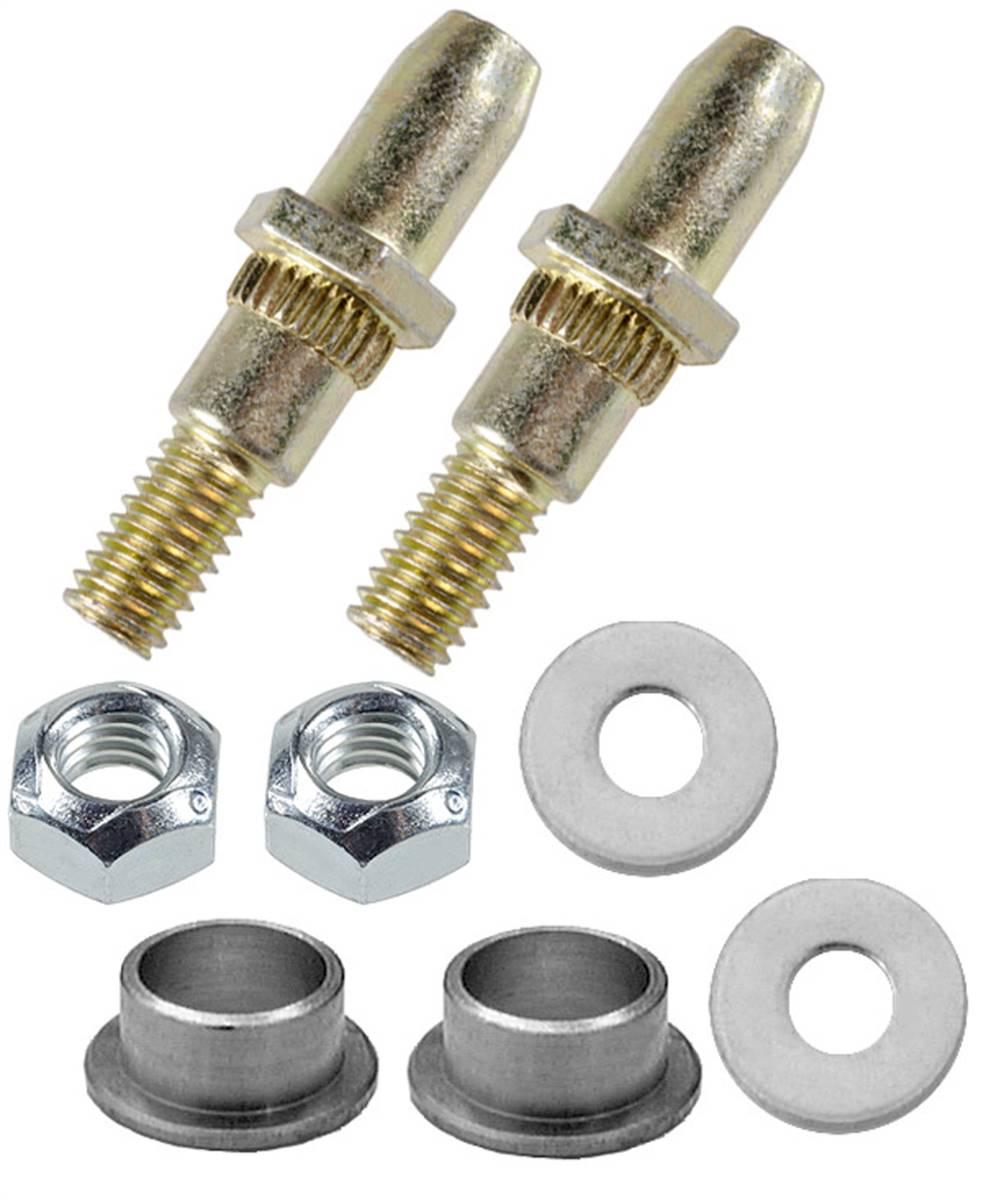 Door Hinge Pins Bushings Clips Washer single hinge kit for 1999-2006 Compatible with Chevy GMC Silverado Sierra Tahoe Yukon