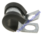 "3/8"" Steel Tubing Clamps With Neoprene Jacket"