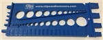 Standard & Metric Bolt & Nut Gauge Plastic