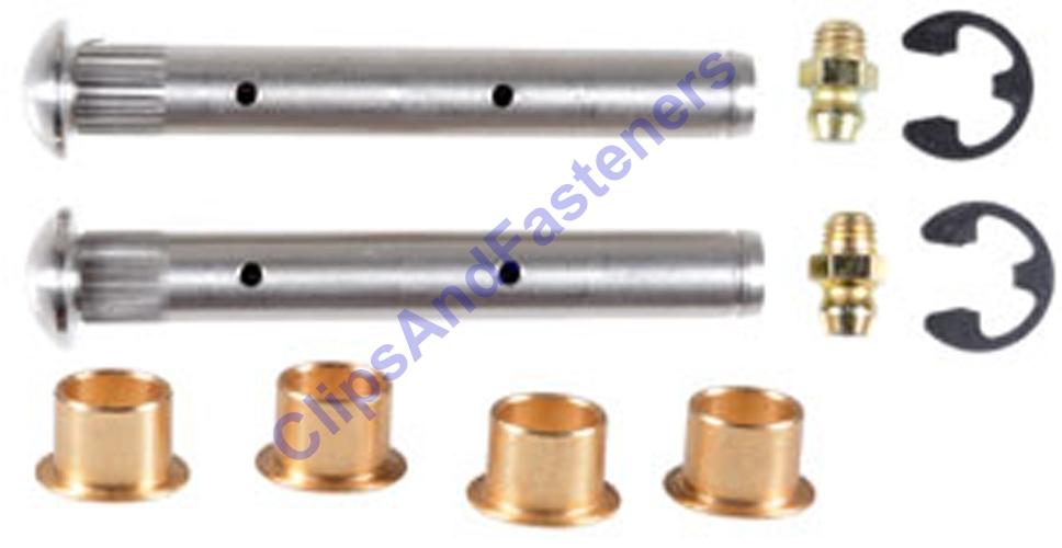 sc 1 st  Clips and Fasteners & Chevrolet And GMC Door Hinge Pin u0026 Bushing Repair Kit 19260663
