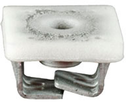 AMZ Clips And Fasteners 10 Radiator Grille and Front End Panel Nuts For GM 11518937