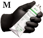 Medium Grease Bully Chemical Resistant Black Nitrile Disposable Gloves