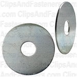 "3/8"" Fender Washer 1-1/2"" O.D. Zinc Plated"