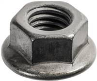 "Ford Lincoln Mercury 1//4-20 black serrated large flange nuts 11//16/"" flange 25"
