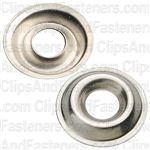 #8 Flange Countersunk Washer Nickel/Brass