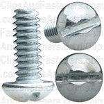 10-24 X 1/2 Slotted Round Hd Machine Screw Zinc