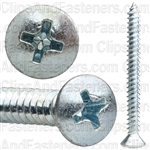 10 X 2 Phillips Oval #8 Hd Tap Screw Zinc