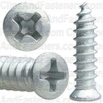 10 X 3/4 #6 Hd Phillips Oval Head Tap Screw Zinc