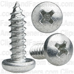 10 X 5/8 Phillips Pan Head Tap Screw Zinc