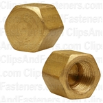 Brass Cap 1/8 Pipe Thread