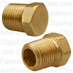 Brass Hex Head Plug 1/8 Pipe Thread
