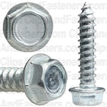 12 X 1 Ind. Hex Washer Head Tap Screw Zinc