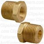 Brass Bushing 3/8 Ext. Thread 1/8 Int. Thread