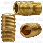 Brass Close Nipple 3/4 Length 1/8 Pipe Thread