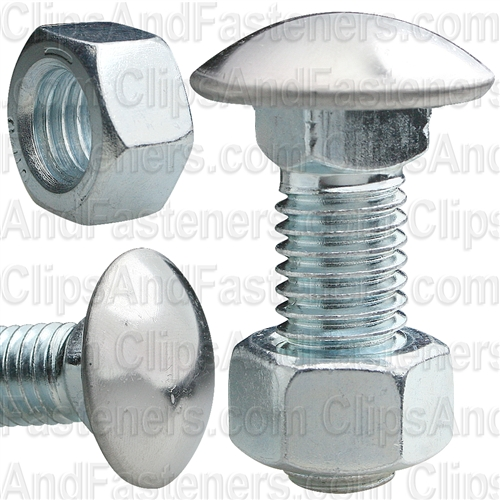 1/2-13 X 1-1/2 S.S .Capped Rnd Hd Bumper Bolt