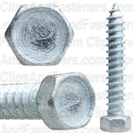 "#12 X 1-1/4"" Indented Hex Head Tapping Screws Zinc"