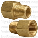 Brass Adapter 1/8 Thread A 1/8 Thread B