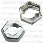 Thread Cutting Nut 1/8 Stud Size 1/4 Hex