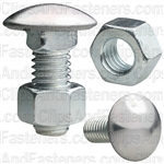 Bumper Bolt And Hex Nut 3/8-16 X 7/8