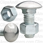 Bumper Bolt And Hex Nut 3/8-16 X 1