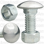 Bumper Bolt & Lock Nut 3/8-16 X 7/8