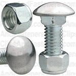 Bumper Bolt & Lock Nut 7/16-14 X 1-1/4