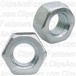5/16-24 Finish Hex Nut Zinc
