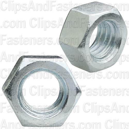 3/8-16 Finish Hex Nut Zinc