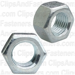 3/8-24 Finish Hex Nut Zinc