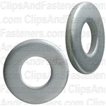 "1/4"" SAE Flat Washer Zinc Finish 5/8"" O.D."