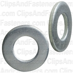 "5/16"" SAE Flat Washer Zinc Finish 11/16"" O.D."
